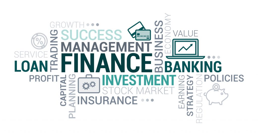 financial services word cloud-paladin digital marketing